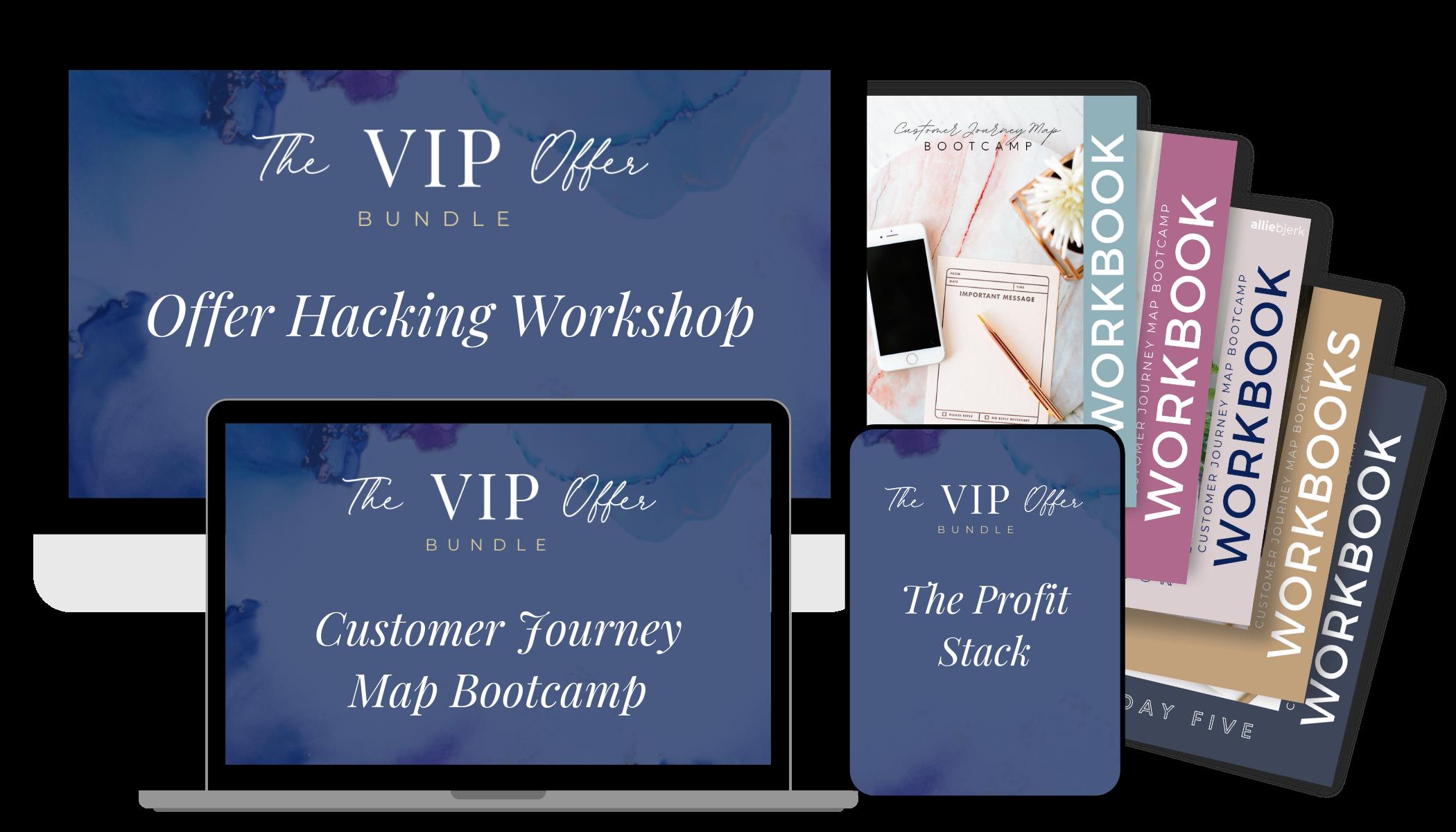 The VIP Offer Bundle Mockup