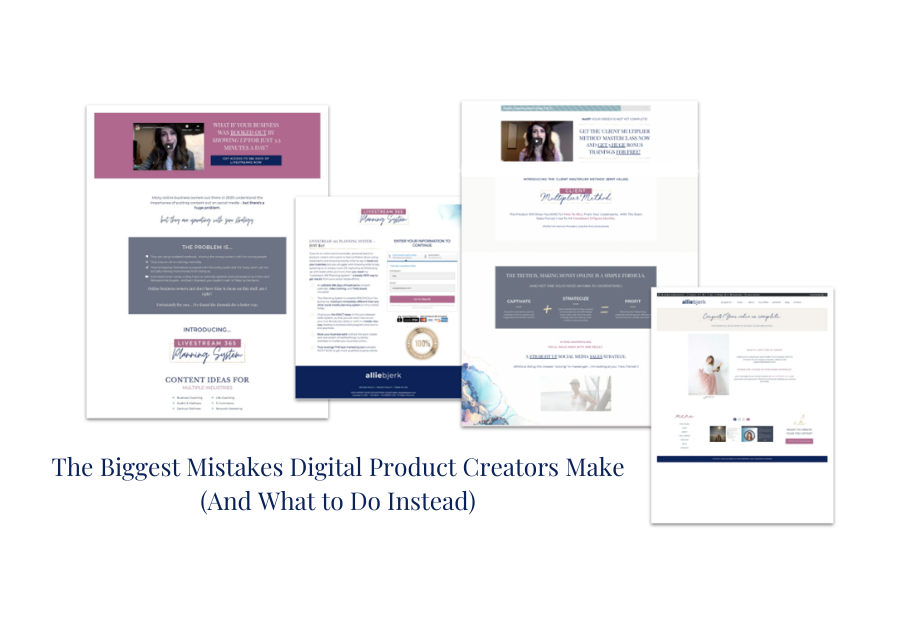 The Biggest Mistakes Digital Product Creators Make (And What to Do Instead)