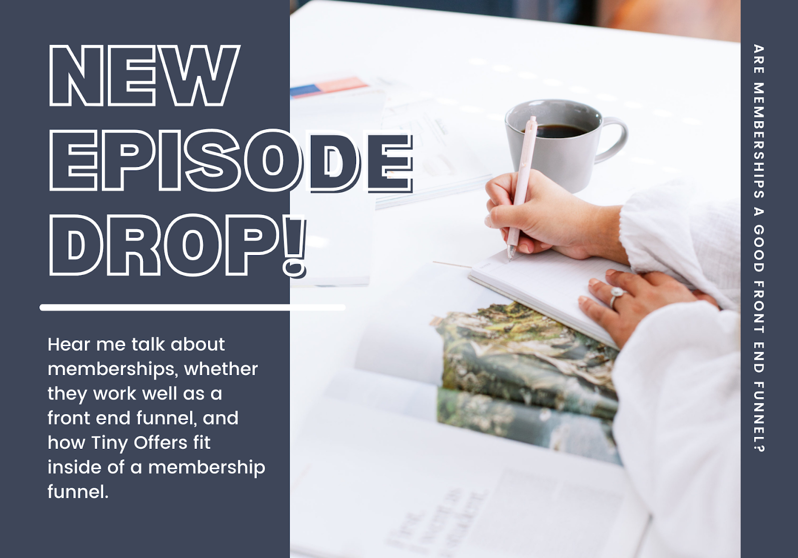 Episode 16 - Are Memberships a Good Front End Funnel