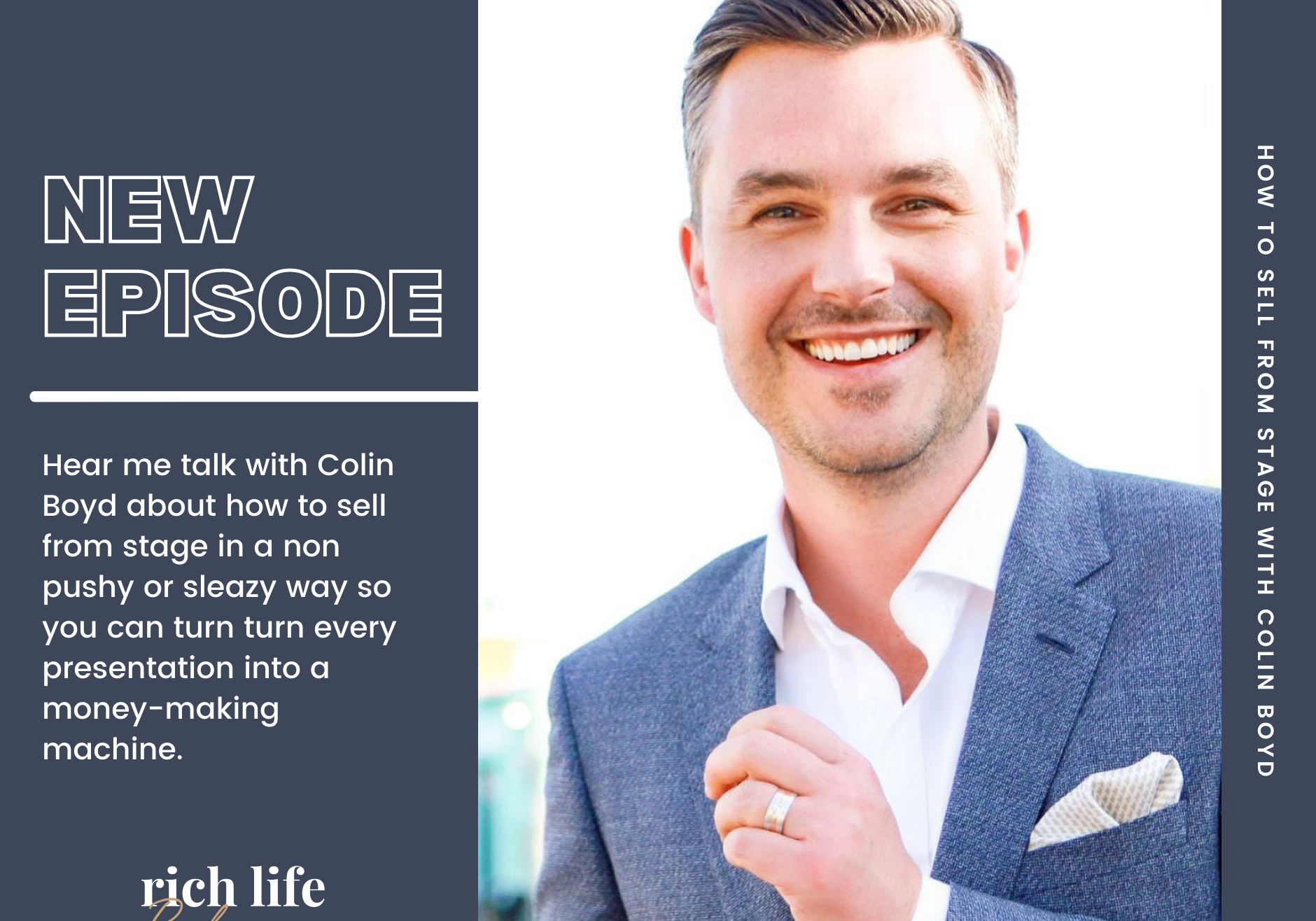 RLL Podcast - Colin Boyd - Episode 18